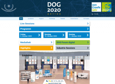 DOG Congress - landing page